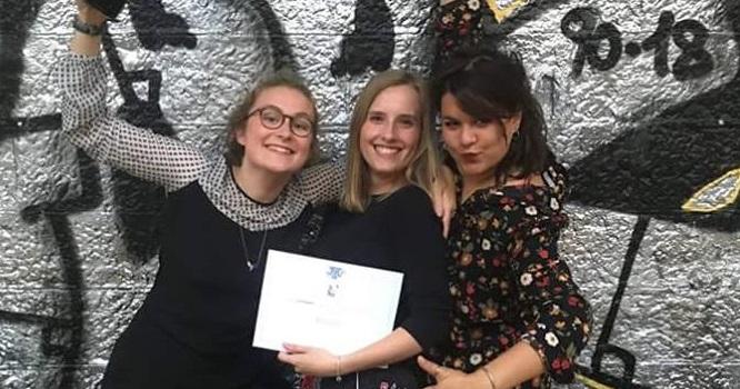 3 étudiantes de l'ISD RUBIKA remportent le 2ème prix du concours « Design Zéro Déchet »