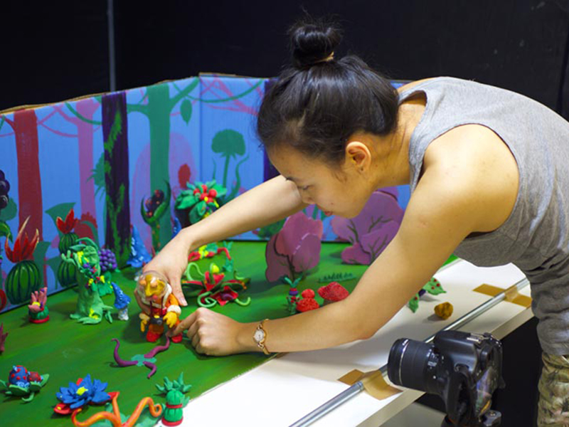 atelier stop motion RUBIKA 2019 animation Supinfocom