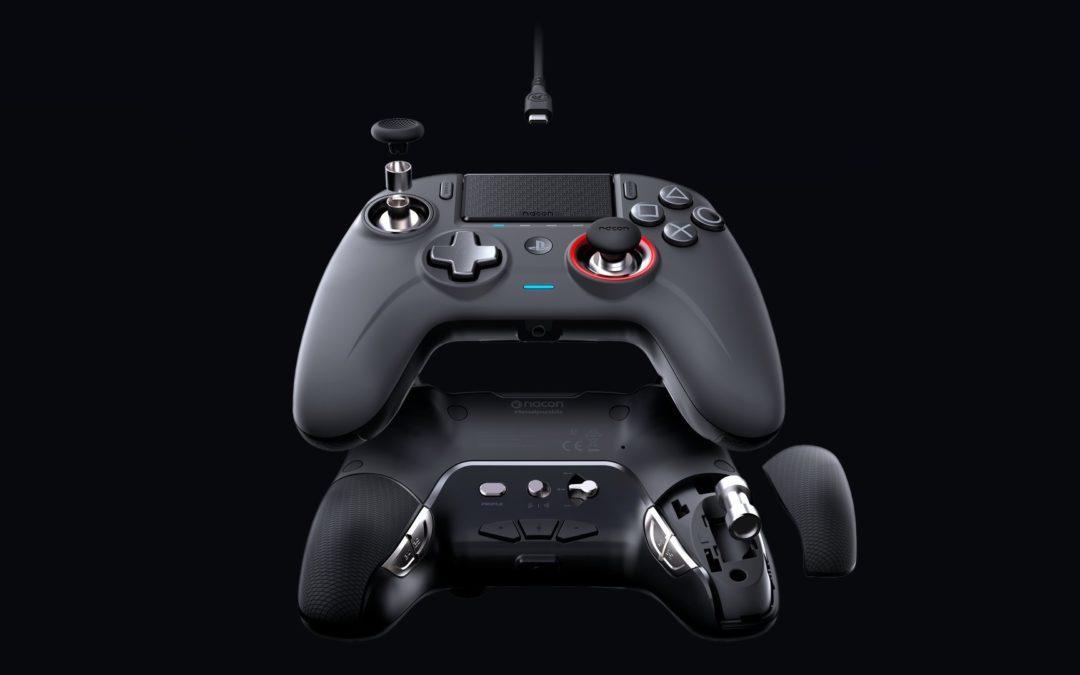 Un ancien de l'ISD design la manette Nacon Revolution Unlimited PS4 Pro Controller pour BigBen