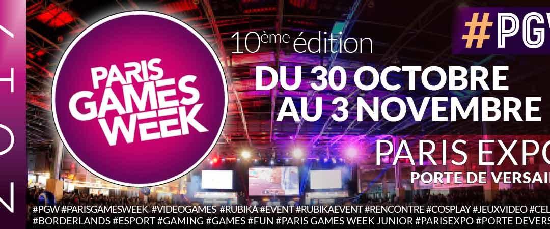 Plongez dans l'univers Jeu Vidéo de RUBIKA à la Paris Games Week